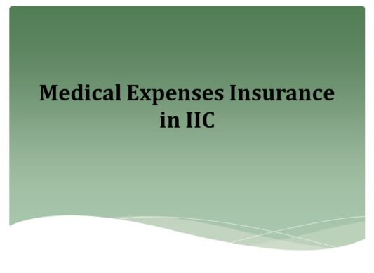 Medical Expenses Insurance in IIC